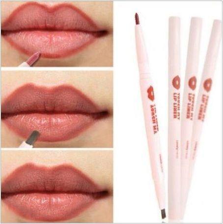 Как да рисуваме устните с молив?