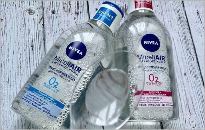 Miccellar Water Nivea: сортове и съвети при избора