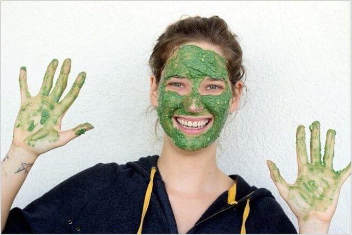 Рецепти за маски с спирулина