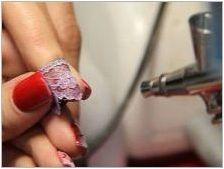 AirBrush на ноктите: характеристики и технологии