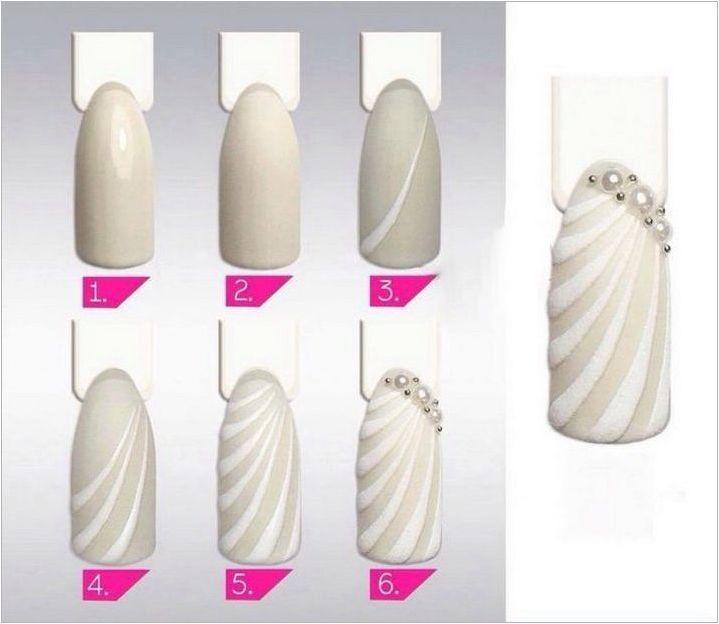 Черупки на ноктите: характеристики на създаване на дизайн и маникюр