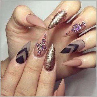 Дизайн на пикантни ивици за нокти