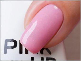 Характеристики и съвети за прилагане на гел лакове розови