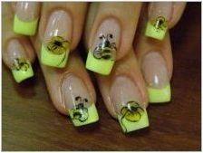 Идеи за дизайн на маникюр с насекоми