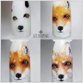 Идеите за необичаен дизайн на маникюр с лисица