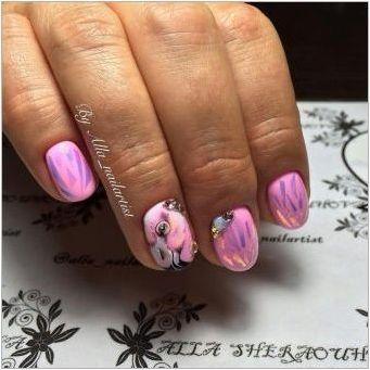 Как да направите стилен маникюр с фламинго?