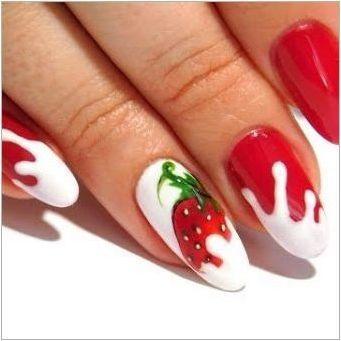 Как да си направим маникюр с ягода по ноктите?