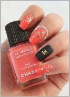 Маникюр на Chanel
