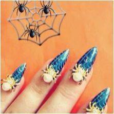Опции за стилен дизайн на маникюр с паяк