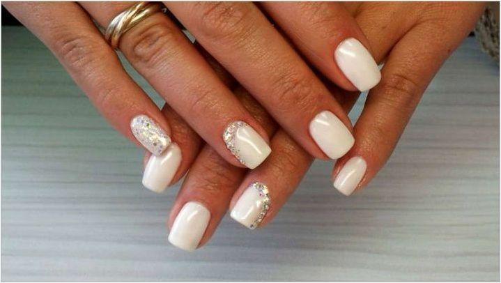 Pearl Manicure: Модни тенденции и опции за дизайн