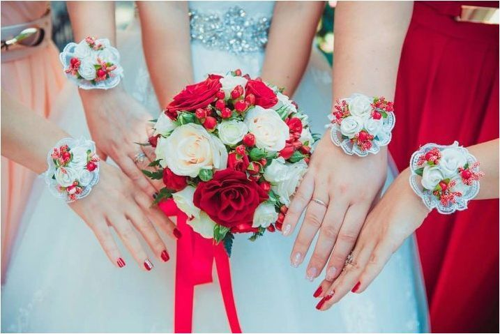 Сватбен маникюр с гел лак