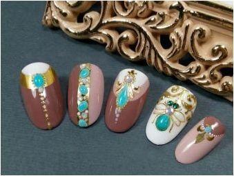 Течни камъни на ноктите: характеристики на маникюр и финес