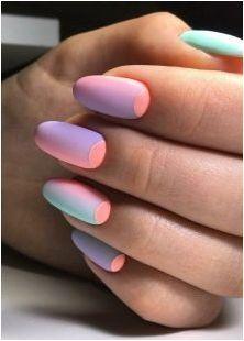 Вертикален градиент на ноктите