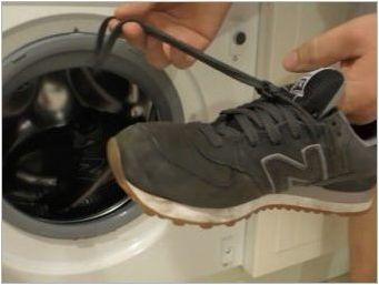 Как да измием маратонки в перална машина?