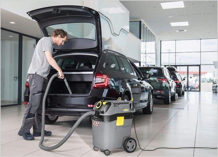 Прахосмукачки за химическо чистене на автомобилен интериор