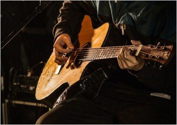 Борба & # 171 + G8 & # 187 + китара