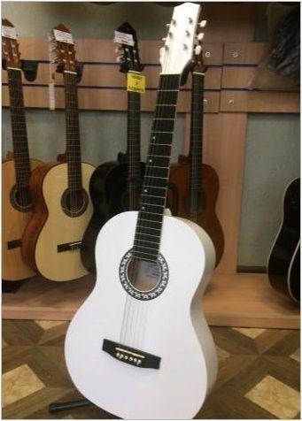 Преглед на белите китари