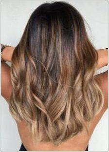 Балоу на средна коса: функции и избор на цвят