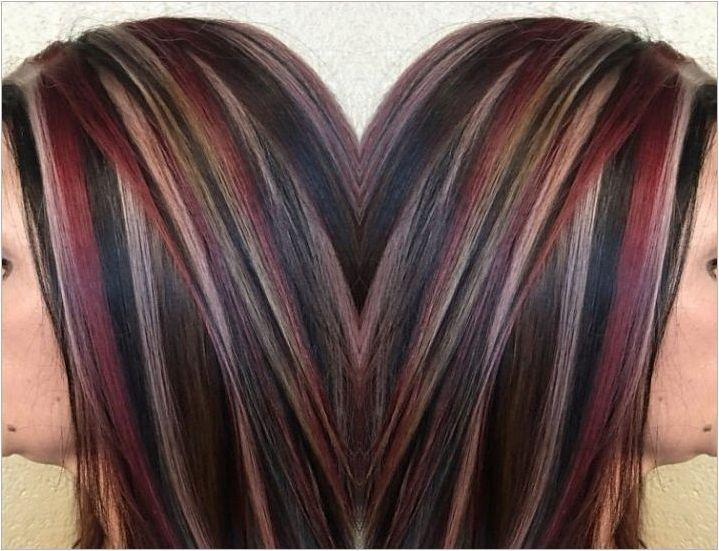 Червено топене: Характеристики и препоръки за оцветяване