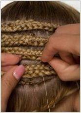 Характеристики и техника на удължаване на косата на пигтейла