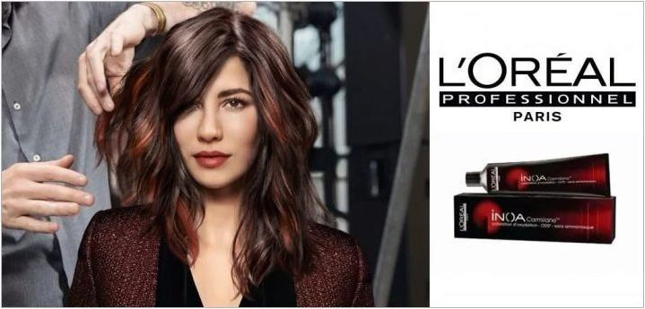 Характеристики на косата Красота Loreal Professional Inoa