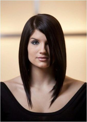 Изберете подстригване на права коса