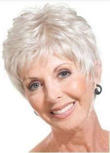 Изберете прическа за жени след 55 години