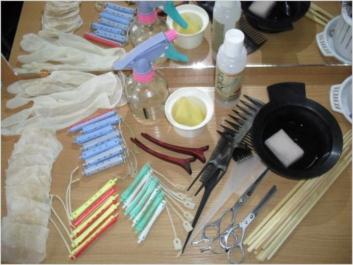 Как да направим химически косми коса у дома?