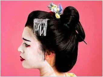 Китайски стил прическа