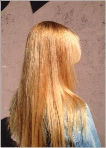 Кога и как можете да рисувате косата след изясняване?