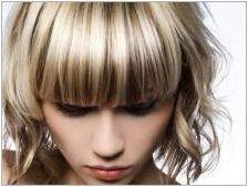 Концепция Бои за коса: Технология за цветя и оцветяване