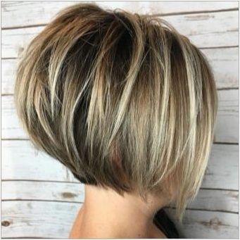 Къса прически на тънка коса: функции, съвети за избор