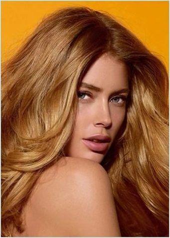 Мед коса коса: популярни нюанси и препоръки за оцветяване