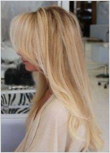 Модни блондинки прически