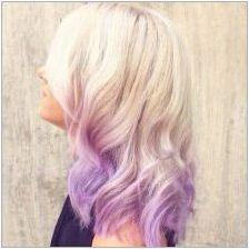 Оцветяване на руса коса