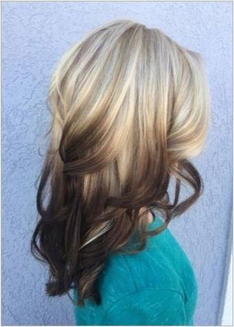OMBRE на средна коса: техника и техника на изпълнение