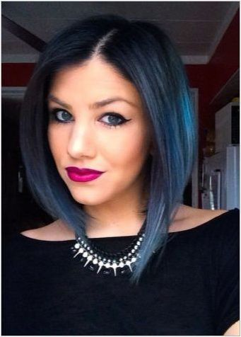 OMMRE на черна коса: избор на цветова и оцветяване технология