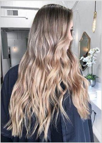OMMRE на руса коса: функции, видове, селекция от сянка
