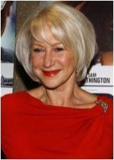 Подстригване и прически на средна коса за жени след 50 години