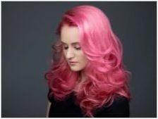 Розова руса: популярни тонове и препоръки за оцветяване