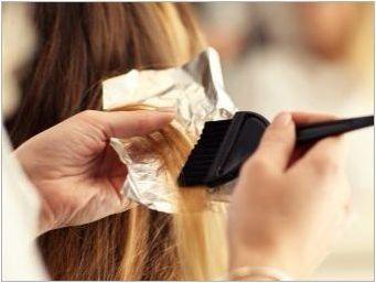 Розови съвети за коса: опции и характеристики на живопис