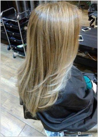 Shatuch Blond: Характеристики, технологии и събиране на сянка