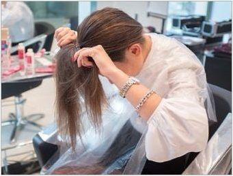 Shatuch на тъмна коса: функции, примерни правила за подбор