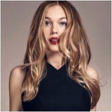 Видове контура на косата и селекция на нюанси