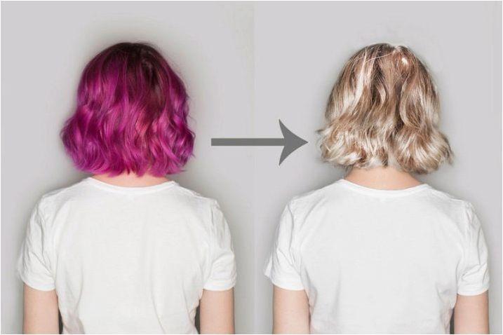 Всичко за косата боя антоцианин