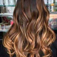 Златна медна коса Цвят: нюанси и опции за оцветяване