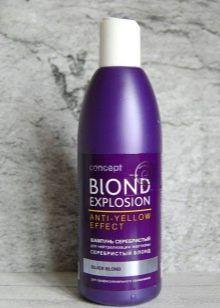 Звуци на блондинка коса