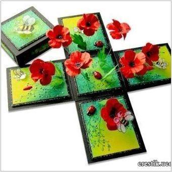 Сортове кутии от пощенски картички и тяхното производство