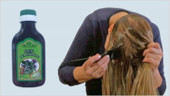 Характеристики на използването на бързо масло за растеж на косата