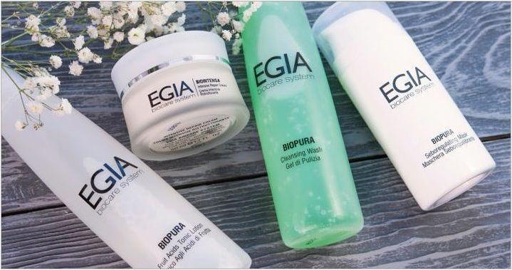 Егиа козметика: свойства и асортимент